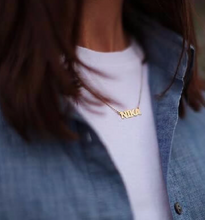 Capitalize That Name Necklace