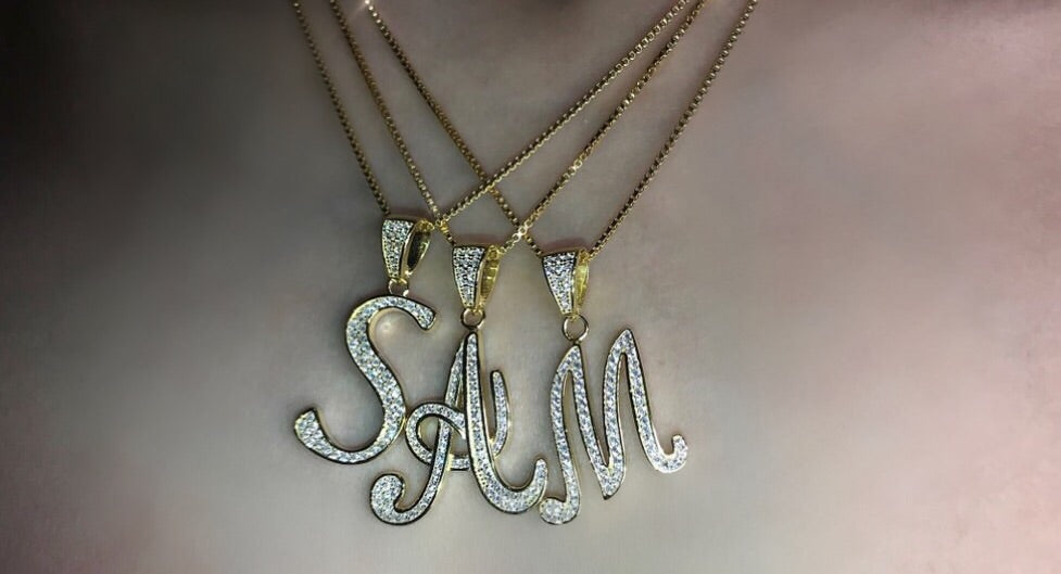 Swarovski Initial Necklace