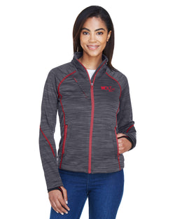 Bonded Heather Fleece Jacket