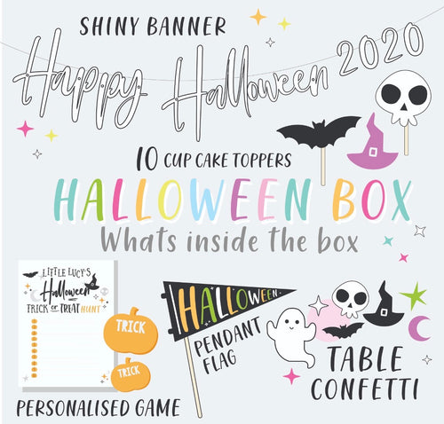 The Lucy Rose Party Halloween Box - Personalised