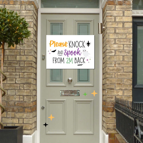 Print at Home | PDF Printable | Trick or Treat 2020 Door Sign ONLY