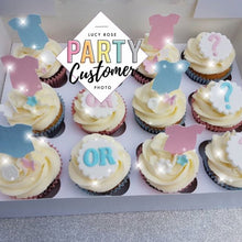 Baby Grow Cup Cake Toppers