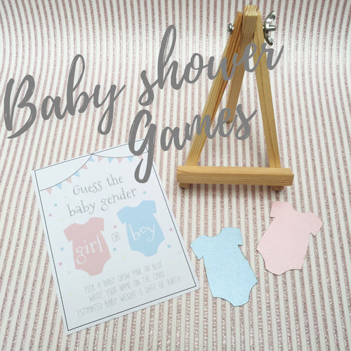 'Guess the Baby Gender' Baby Shower Game