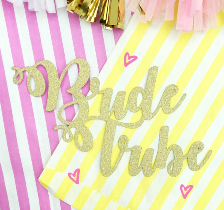 Bride Tribe Cake Topper