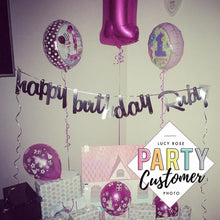 Personalised Happy Birthday Banner