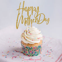 Mother's Day Cup Cake Topper (Pack of 10)