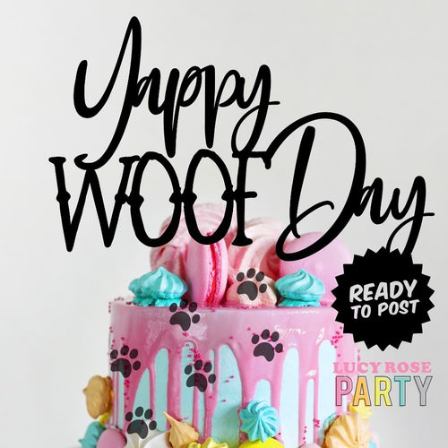 Yappy Woof Day