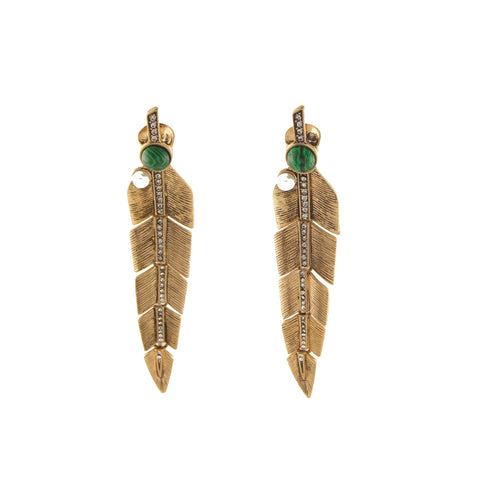 Vanessa Green Earring
