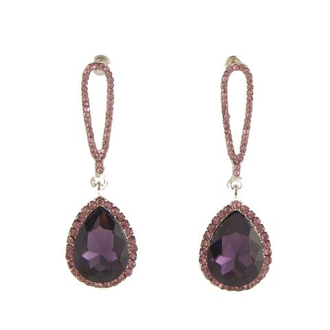 Flashing Gem Drop Earring
