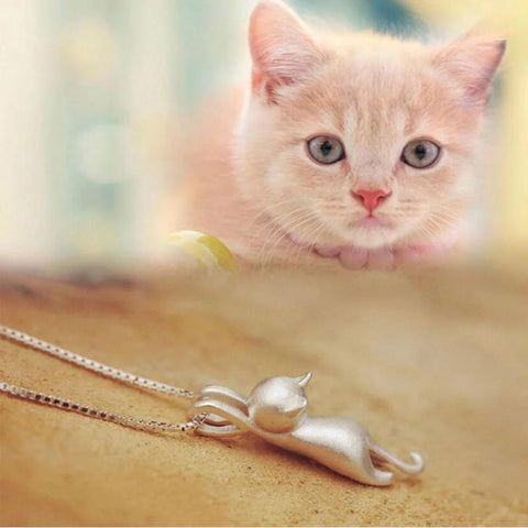 925 SS Cat Lovers Necklace