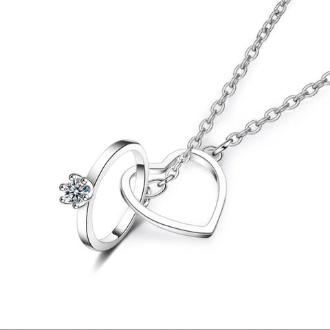 925 SS Love Necklace