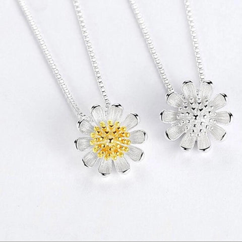 925 SS Lucky Flower Necklace