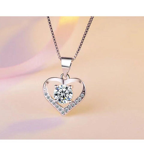 925 SS Valentine Heart Necklace