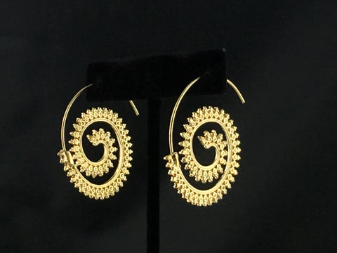 Jacqueline Gold Earring