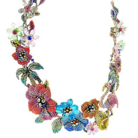 Bird of Paradise Statement Necklace