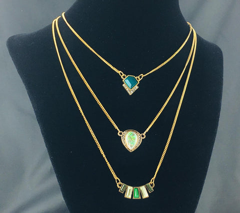 Gogreenlayered Necklace