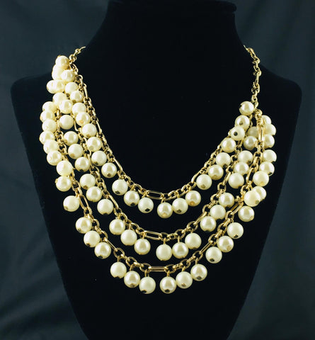 Layersofpearl Necklace