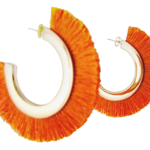 Gonolek Hoop Earrings