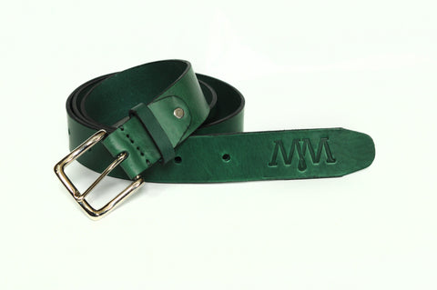 The Jamestown - Belt - Dark Green