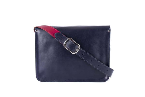 The Harmood in Navy/Hot Pink with White Accents