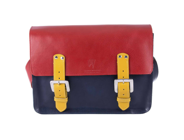 The Harmood in Red/Navy with Mango Accents