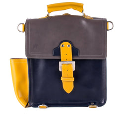 The Hawley in Grey/Navy with Mango Accents