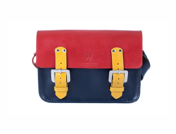 The Albert in Red/Navy with Mango Accents