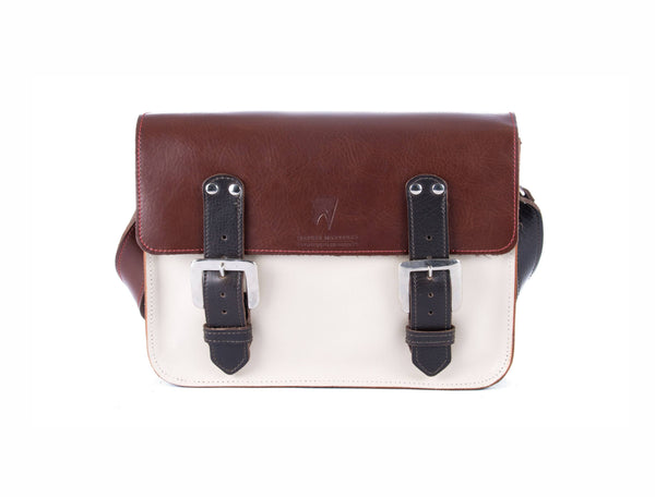The Albert in Brown/Off White with Dark brown Accents