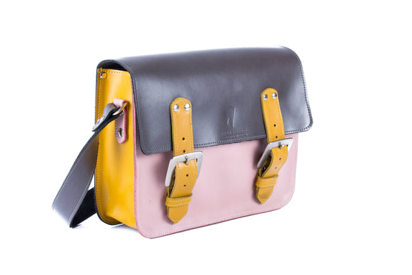 The Albert in Grey/Baby Pink with Mango Accents