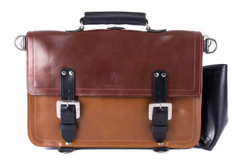 The Caledonian in Brown/Tan with Black Accents