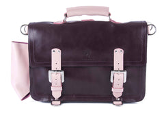The Caledonian in Baby Pink and Aubergine