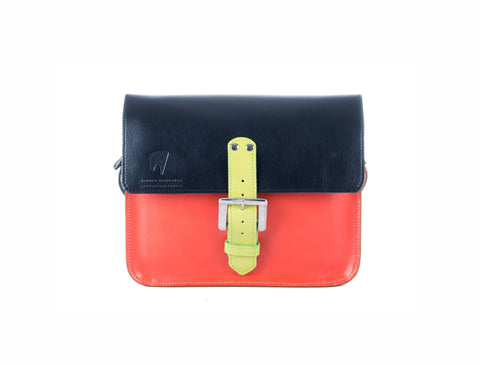The Chalk Farm in Black/Orange with Lime Accents