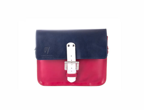 The Chalk Farm in Navy/Hot Pink with White Accents