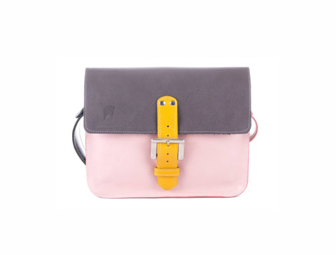 The Chalk Farm in Grey/Baby Pink with Mango Accents