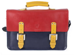 The Inverness in Red/Navy with Mango Accents