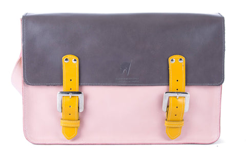 The Arlington in Grey/Baby Pink with Mango Accents