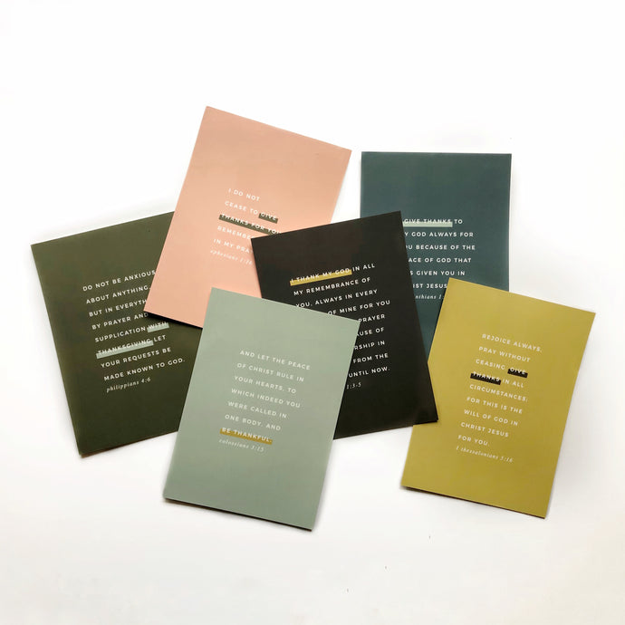 Gratitude Notecard Set