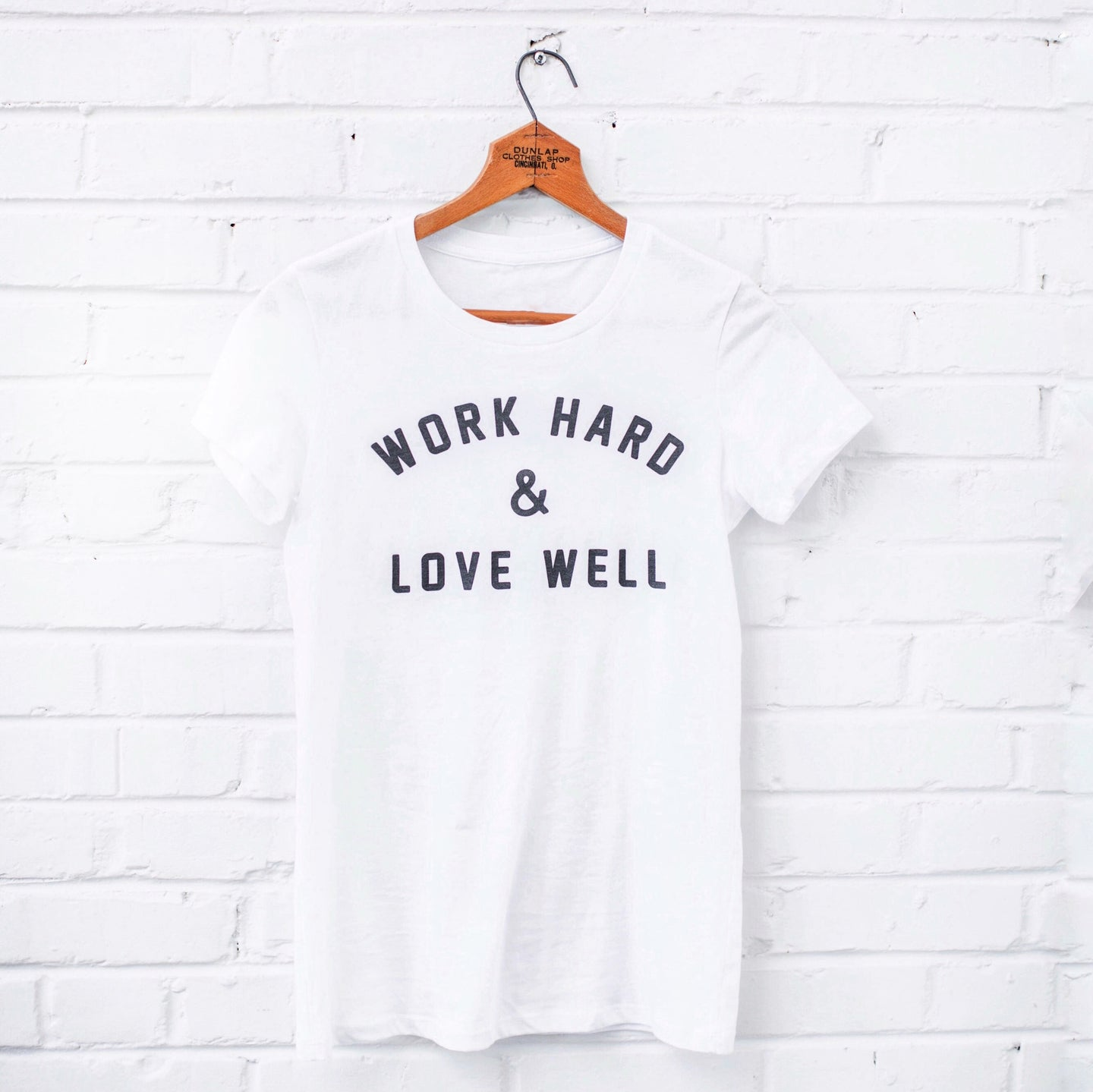 Work Hard & Love Well Tee - Grace + Porter