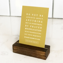 Scripture Card Stand - Grace + Porter
