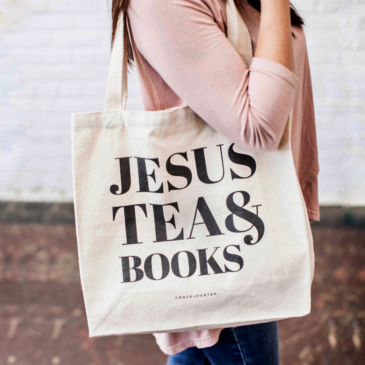 Jesus, Tea & Books - Grace + Porter