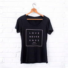 Love Never Ends Scoop Neck Tee - Grace + Porter