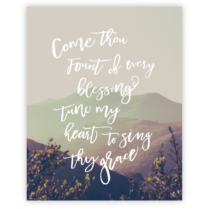 Come Thou Fount - Grace + Porter