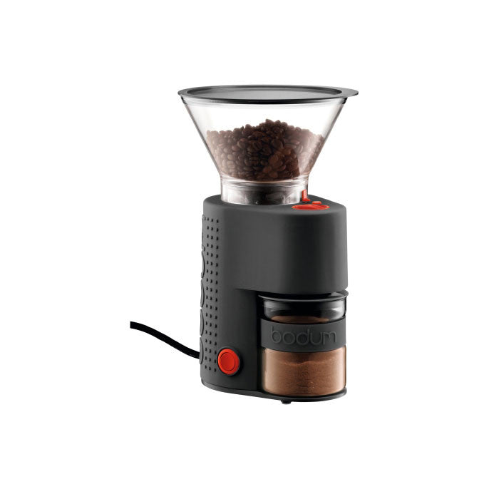 BISTRO Grand moulin à café noir / BISTRO Black Electric Coffee Grinder
