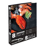 Ensemble de 8 outils à fruits de mer / 8pc SeafoodTool Set