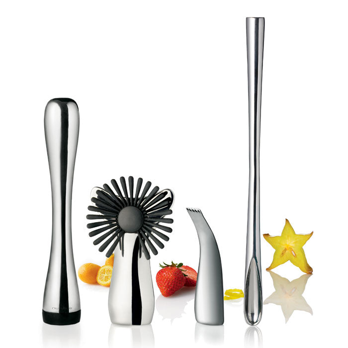 Nuance - Ensemble 4 accessoires pour bar / Nuance Stainless Steel Bar Accessories Set