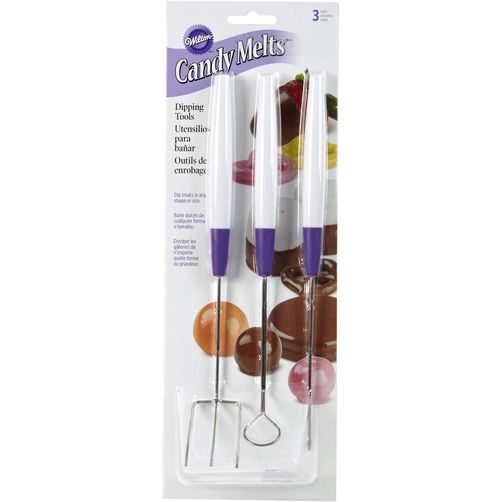 Outils pour enrobage des chocolats / Candy Dipping Tool Set, 3-Piece