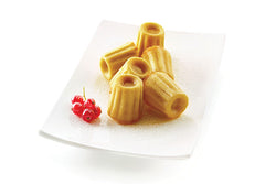 Moules BORDELAIS OU CANNELé en silicone flexibles SILICONFLEX / SILICONE MOLD - MINI CANNELE