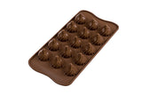 Moule silicone pour chocolat Choco Flamme/ Chocolate Silicone Mold - Choco Flamme
