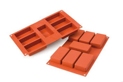 Moules RECTANGLES en silicone flexibles SILICONFLEX / Silicone Rectangle Mold