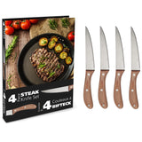 Ensemble de 4 Couteaux à Steak / Steak Knives Set